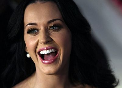 women, Katy Perry, celebrity, smiling, singers, faces - random desktop wallpaper