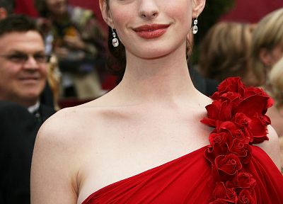 women, Anne Hathaway, actress - random desktop wallpaper