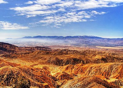 mountains, sand, deserts, HDR photography - desktop wallpaper