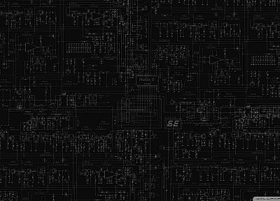 circuits - random desktop wallpaper