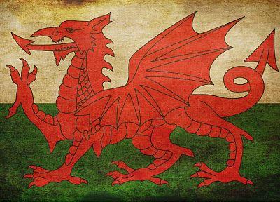 flags, Wales - related desktop wallpaper