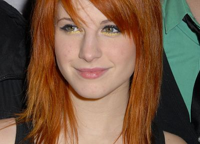 Hayley Williams, Paramore, redheads, celebrity - desktop wallpaper