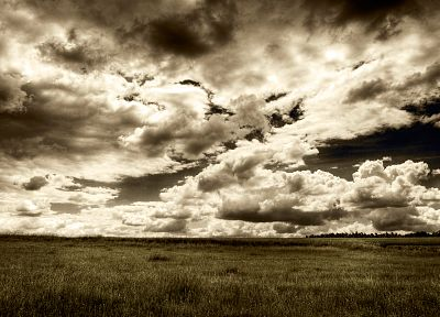 clouds, landscapes, nature, fields, skyscapes - related desktop wallpaper