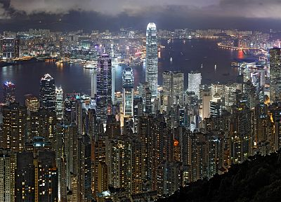 cityscapes, architecture, buildings, Hong Kong - related desktop wallpaper