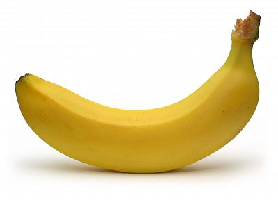fruits, food, bananas, white background - related desktop wallpaper