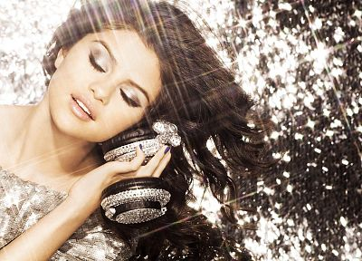 brunettes, women, Selena Gomez, actress, celebrity, singers - random desktop wallpaper