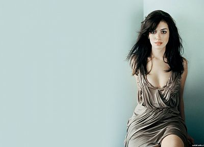 women, Anne Hathaway, celebrity - random desktop wallpaper