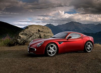 cars, Alfa Romeo, vehicles - desktop wallpaper