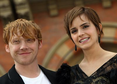 Emma Watson, Harry Potter, Rupert Grint - random desktop wallpaper