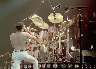 Freddie Mercury, Montreal, concert, Queen music band - random desktop wallpaper