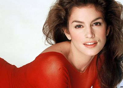 brunettes, women, models, Cindy Crawford - related desktop wallpaper