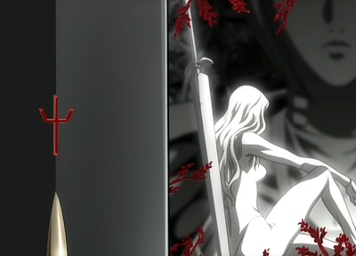 Claymore, Teresa, Clare, swords - random desktop wallpaper