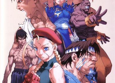 Street Fighter, Cammy, Ryu, Chun-Li, T. Hawk - related desktop wallpaper