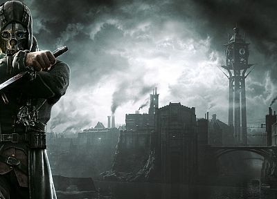 video games, steampunk, Dishonored, Corvo Attano - related desktop wallpaper