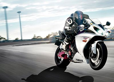 Yamaha, vehicles, Moto GP, motorbikes, motorcycles - random desktop wallpaper