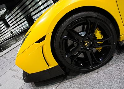 cars, Lamborghini, rims, tires - random desktop wallpaper