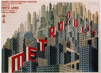 Metropolis, movie posters - random desktop wallpaper