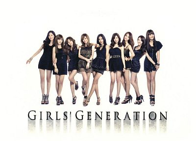 legs, women, Girls Generation SNSD, celebrity, high heels, Korean, black dress, bracelets - random desktop wallpaper