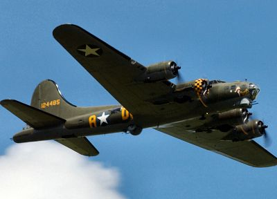 aircraft, military, bomber, Boeing, B-17 Flying Fortress, Memphis Belle, B-17, Boeing B-17 Flying Fortress, nose art - desktop wallpaper