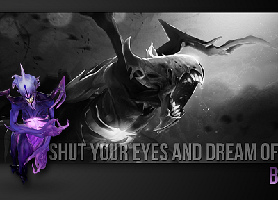 Bane, DotA 2 - random desktop wallpaper