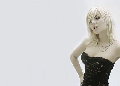 blondes, women, Elisha Cuthbert, actress, celebrity, simple background, white background - related desktop wallpaper