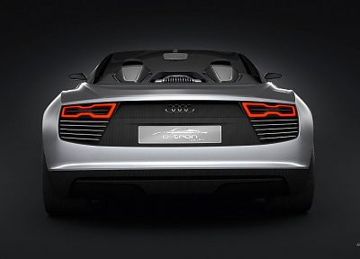 cars, Audi, Tron, concept art, spyder - random desktop wallpaper