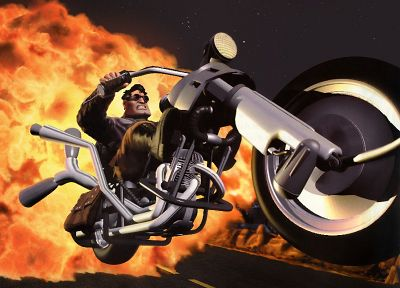 Full Throttle - random desktop wallpaper