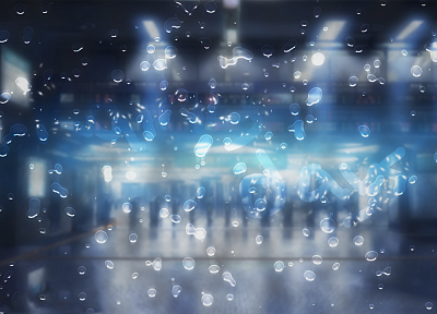 Makoto Shinkai, water drops, The Place Promised in Our Early Days, depth of field - related desktop wallpaper