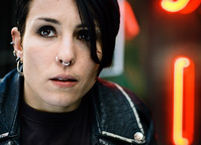 piercings, Girl With The Dragon Tattoo, Septum, Lisbeth Salander - related desktop wallpaper