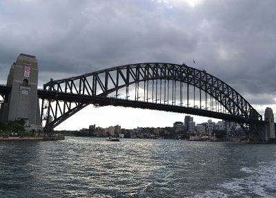 bridges, Australia, Harbour Bridge - random desktop wallpaper