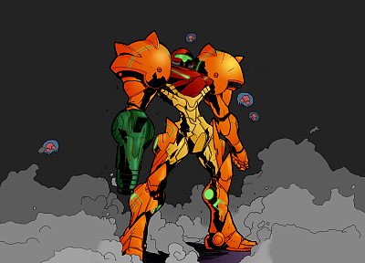 Metroid, video games, Samus Aran, varia - related desktop wallpaper