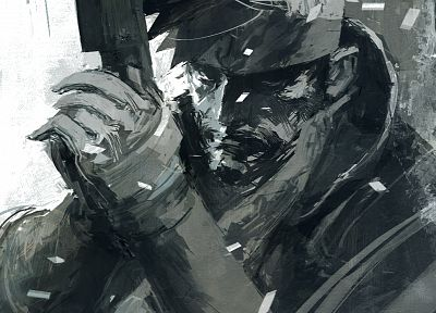 Metal Gear, video games, digital, mgs, Metal Gear Solid, Solid Snake - desktop wallpaper