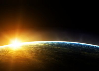 Sun, outer space, Earth - related desktop wallpaper