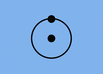 Watchmen, minimalistic, symbol, Dr. Manhattan - desktop wallpaper