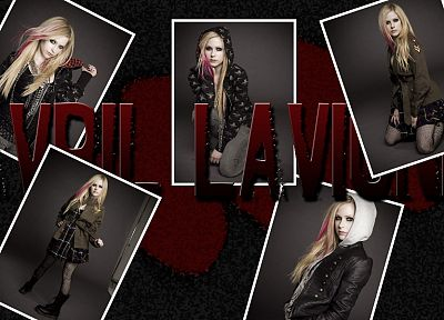 Avril Lavigne, singers - related desktop wallpaper