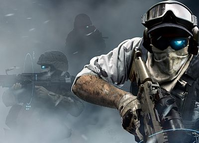 soldiers, video games, military, futuristic, weapons, Ghost Recon, Ghost Recon Future Soldier - related desktop wallpaper