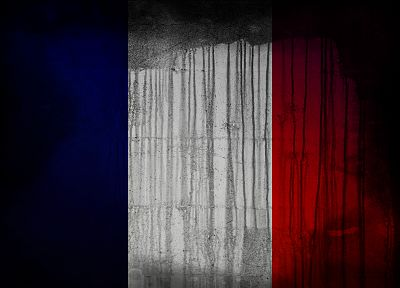 France, flags - random desktop wallpaper
