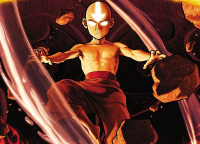 cartoons, Avatar: The Last Airbender, Aang - random desktop wallpaper