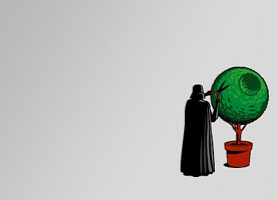 Darth Vader, simple background - desktop wallpaper