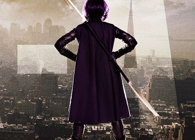 Kick-Ass, Hit Girl, movie posters - random desktop wallpaper