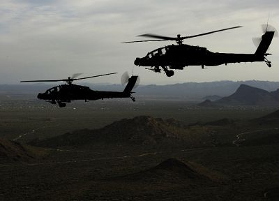 aircraft, apache, military, helicopters, vehicles, AH-64 Apache - related desktop wallpaper