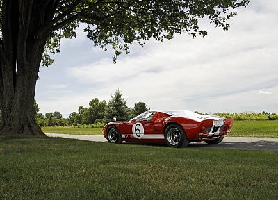 cars, Ford, Ford GT40 - random desktop wallpaper