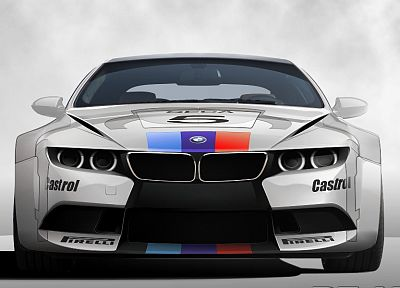 concept art, BMW M6 - random desktop wallpaper