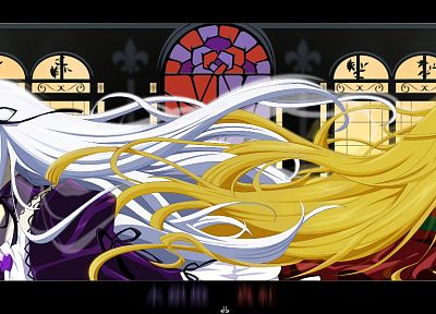 Rozen Maiden, Shinku, Suigintou - related desktop wallpaper