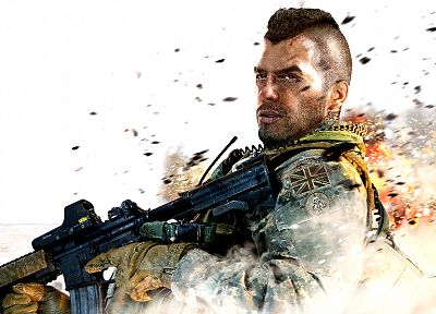 soldiers, guns, military, frost, Modern Warfare 2, Soap McTavish - related desktop wallpaper