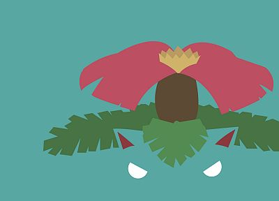 Pokemon, minimalistic, Venusaur - related desktop wallpaper