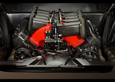 engines, Chevrolet Corvette, 1962, roadster, shop - random desktop wallpaper
