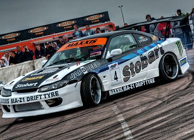 cars, drifting cars, racing, Nissan Silvia - related desktop wallpaper