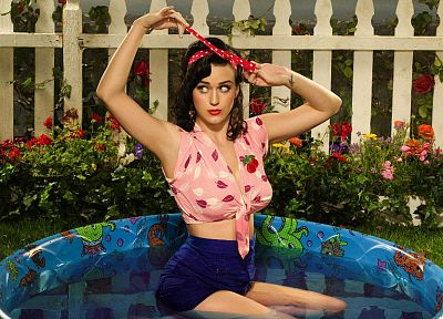 brunettes, women, music, Katy Perry, celebrity, singers - desktop wallpaper