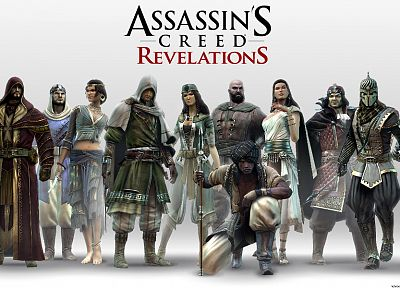 video games, Assassins Creed, assassins, Ubisoft, Assassins Creed Revelations - related desktop wallpaper